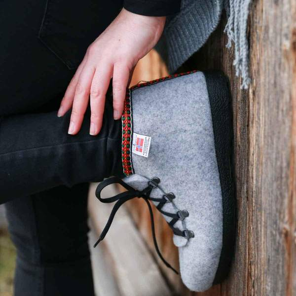 Bilde av Nesnalobben Afterski sko grå